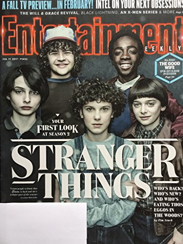 Entertainment Weekly Magazine (February 17, 2017) Stranger Things Cover