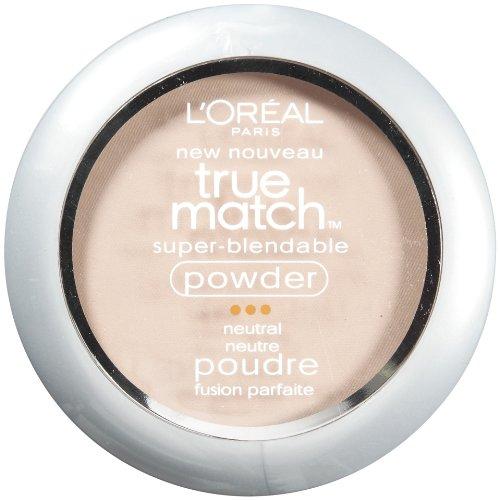 L'Oréal Paris True Match Poudre Super-Blendable, Classic Ivoire, 0,33 once