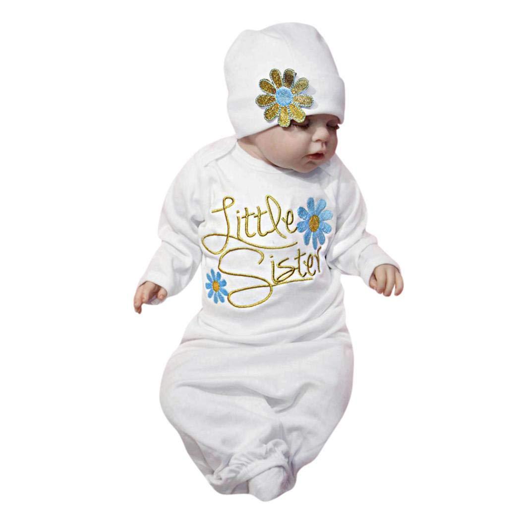 4e3fa1726 Amazon.com  AMSKY❤Newborn Infant Baby Girls Little Girl Cute ...