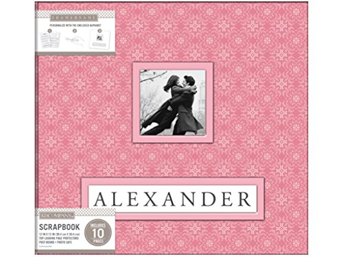 (K & Company KAC705357 12x12 Fan Alexander Scrapbooking Albums)
