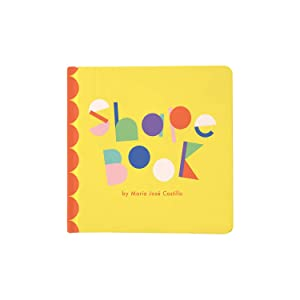 Manhattan Toy Shapes Baby Board Book, Ages 6 Months and up