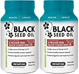 Health Logics Black Cumin Seed Oil Softgels, 100 Count (100 Pack Of 2) Review