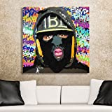 The Heist Limited Edition Spencer Couture Floyd Mayweather Canvas Wall Art 30''x30''