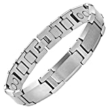 Best Willis Judd Jewelry Boxes - Willis Judd Men's Polished Tungsten Magnetic Bracelet Review