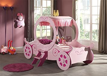 Majestic Furnishings Princess Carriage Bed Amazon Co Uk Kitchen Home