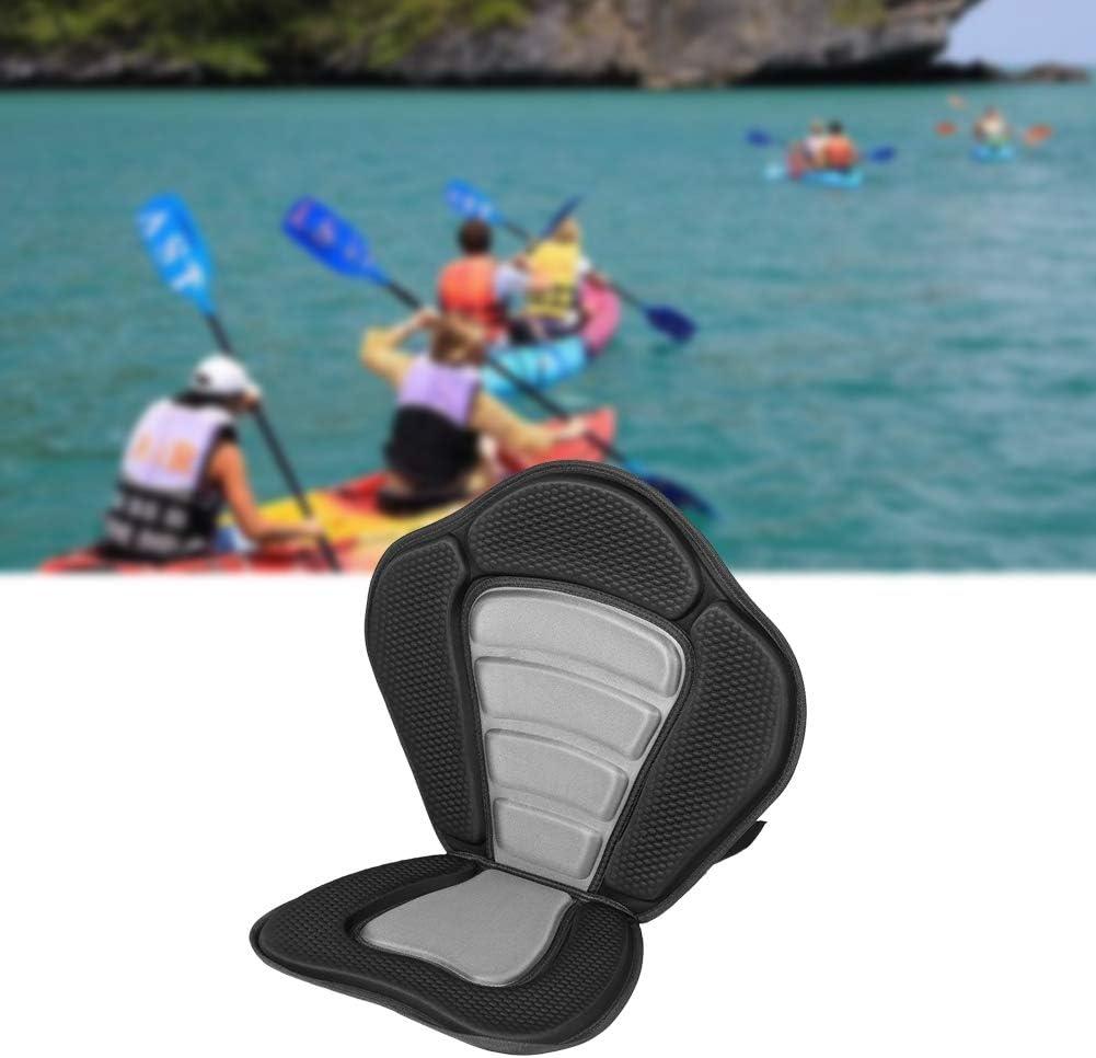 Kayak Adjustable Seat Detachable Back Padded Deluxe Canoe Soft Comfort Backrest