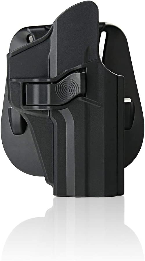 efluky Holster Pistola Molle Pistolera Airsoft Gun Holster para HK USP 9mm/.40 Full Size