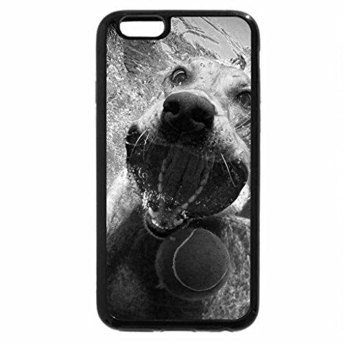 iPhone 6S Case, iPhone 6 Case (Black & White) - YELLOW LAB