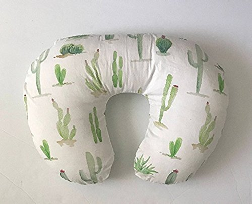 Nursing Pillow Cover - Cactus