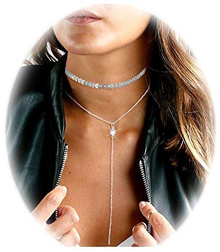 Suyi Unique Sequins Necklace Pendant