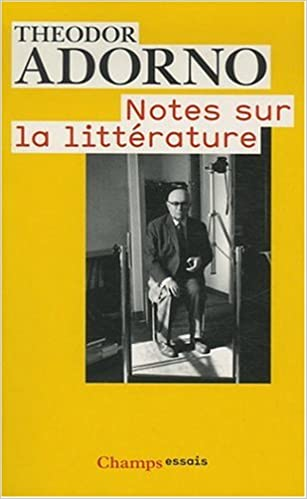 Téléchargement Notes sur la littérature pdf ebook