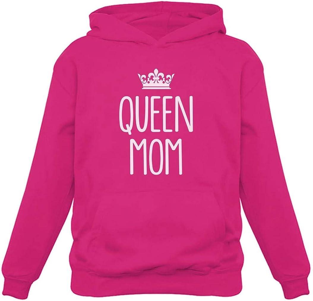 Best Queen of The Family Women Hoodie Tstars Queen Mom