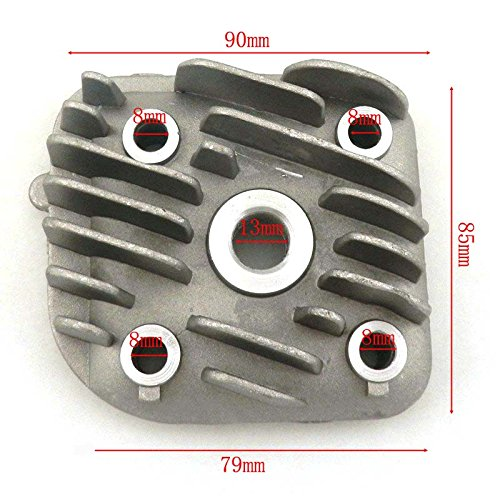 YunShuo Cylinder Head for Scooter Moped JOG 70cc 2 Stroke