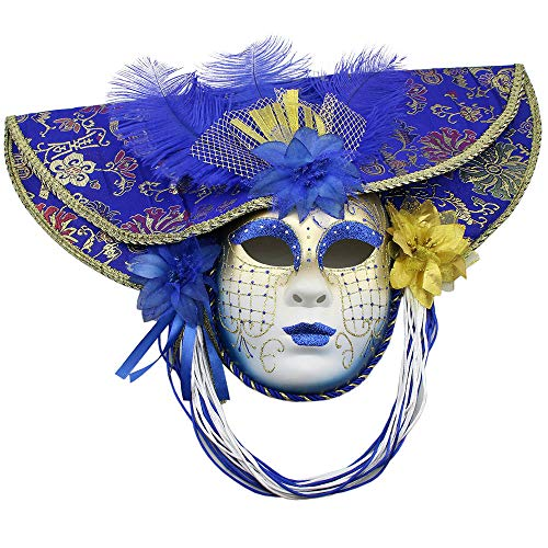 Yacn Lady Venetian Masks Costume&Masquerade Masks Women halloweem Party Masked Ball ... -