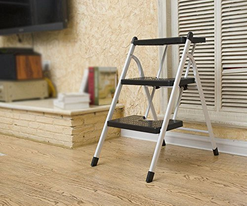 Folding Stool, Ladder Stool, pad Bench, Two/Three, Multi-Color Optional, Multi-Purpose (Style : F) ()