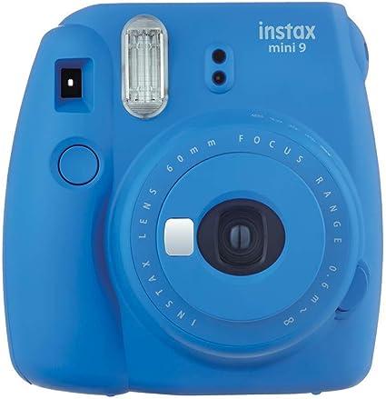 Fujifilm Instax Mini 9 - Cámara instantánea, Solo cámara, Azul Marino: Amazon.es: Electrónica