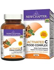 新章New Chapter Activated C有机全食物维C益生菌营养素60粒SS后$18.21