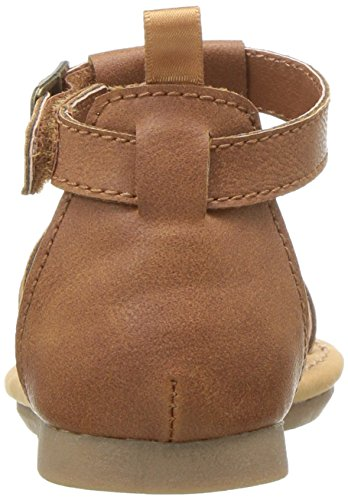 Carter's Girls' Chary Fashion Sandal, Brown, 9 M US Toddler by Carter's (Image #2)