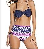 Best FQHOME Chemises - FQHOME Womens Purple Bow Push Up Bikini Vintage Review