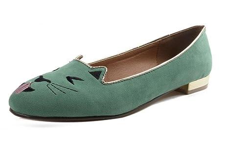 GLTER Mujeres botas de cerrado-dedo del pie zapatos de barco Alternativa zapatos de la