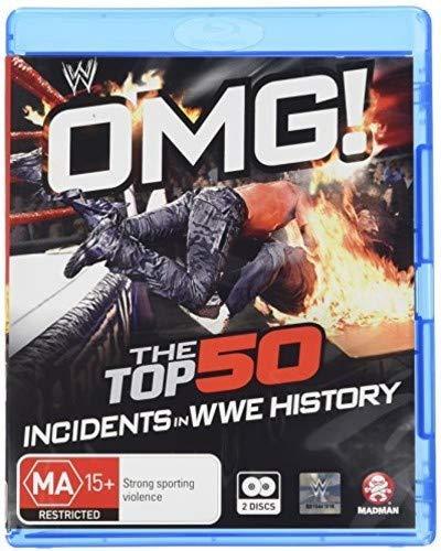 WWE: OMG! The Top 50 Incidents in WWE History [Blu-ray] (Wwe Omg Top 50 Incidents In Wwe History)