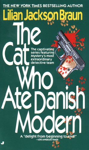 book cover of The Cat Who Ate Danish Modern