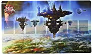 White Wizard Games Star Realms Capital World Playmat Card Games