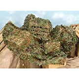 Forum Novelties Green Camouflage Netting, 6 x 8'