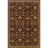 "Amelia Brown Rug Rug Size: 9'10"" x 12'9″ Picture"