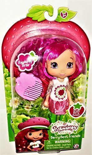 The Bridge Direct Strawberry Shortcake Berry Best Friends Raspberry Torte 6 Inch Scented Doll -