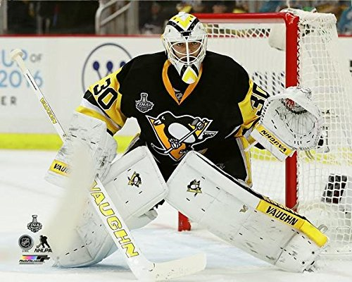 "Matt Murray Pittsburgh Penguins 2016 NHL Stanley Cup Finals Action Photo (Size: 8"" x 10"")"