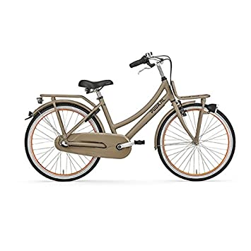 reasonably priced best online another chance Gazelle Bicycle Puur _ NL 24 3 Gang Girls Beige 2017: Amazon ...