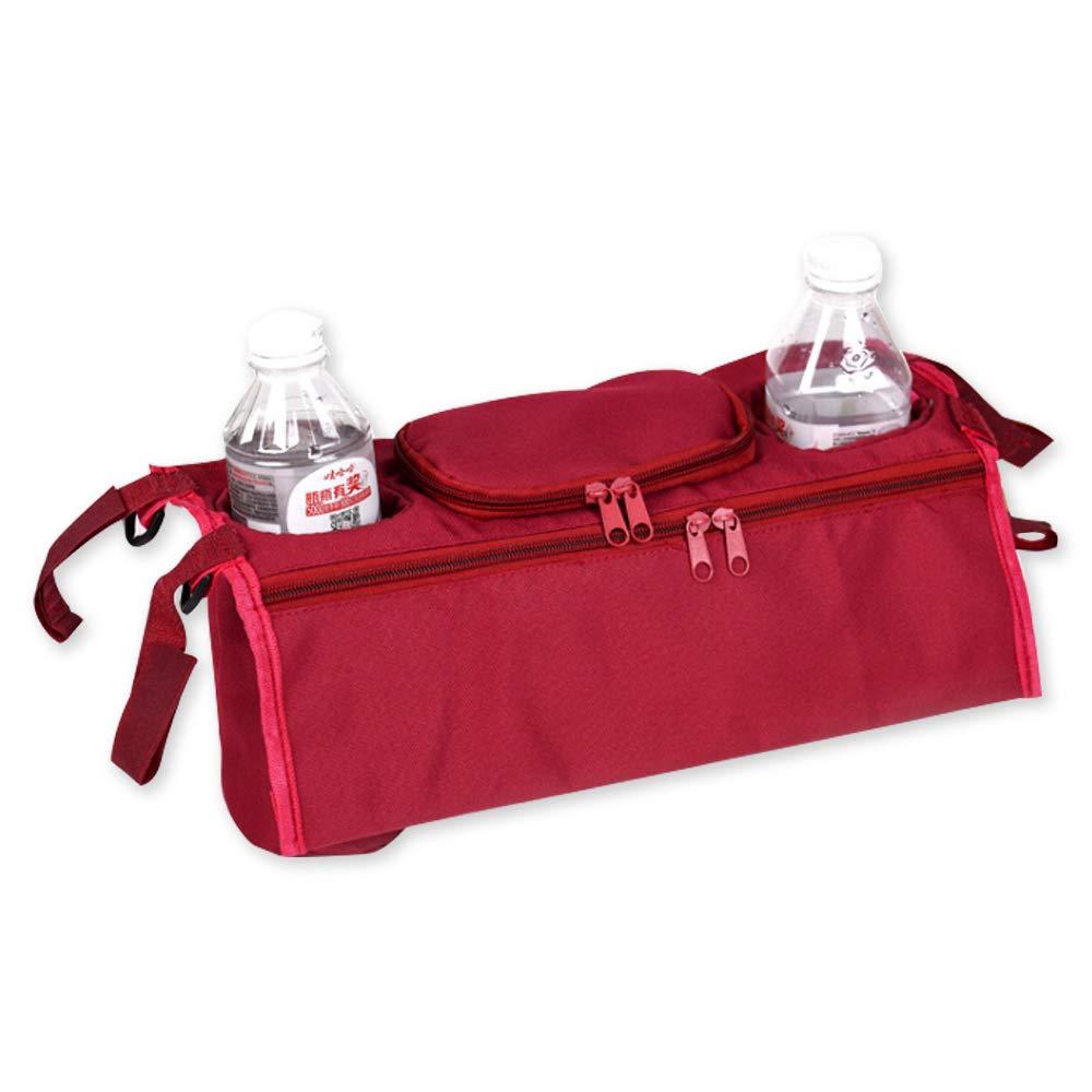 Baby Car Bag Bottle Cup Umbrella Storage Hanging Bag Basket Stroller Holder H Rocita