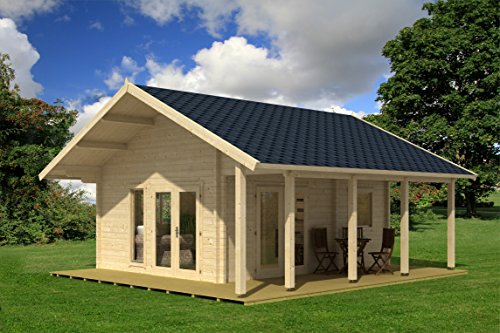 Allwood Bella | 237 SQF Kit Cabin with 86 SQF Loft - Log Cabin Home Kits