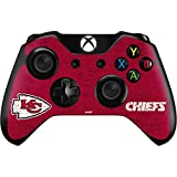 Skinit NFL Kansas City Chiefs Xbox One Controller Skin - Kansas City Chiefs Distressed Design - Ultra Thin, Lightweight Vinyl Decal Protection