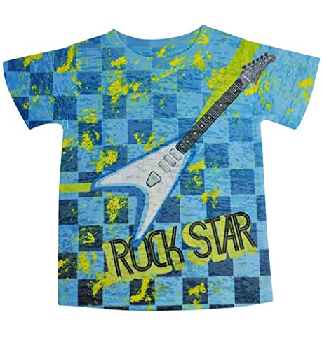 Stella Blu Clothing Little Boys Rock Star T Shirt 4T Multi