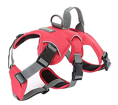 Wellver Pet Vest Harness Dog Halter Harness With Handle