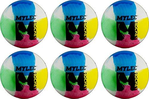 Mylec Multi Color 6 Pack Balls 6 Pack Multi Color Balls, Multi/Tye Dye