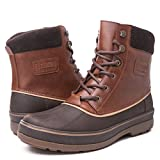 GLOBALWIN Men's Brown 1721 Winter Boots 12M