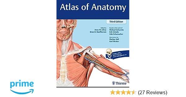 Atlas of Anatomy: 9781626232525: Medicine & Health Science Books ...