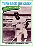 1977 Topps #433 Nate Colbert SAN DIEGO PADRES EX-MT+ TURN BACK THE CLOCK