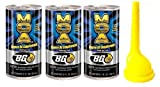 3 Pack Bg 44k Fuel System Cleaner w/ Bg Funnel - 3 Cans