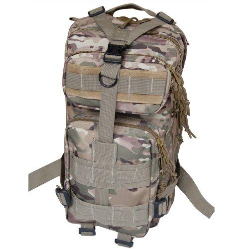 SODIAL (R) 30L tattico Zaini all'aperto Militare Campeggio Escursioni borsa - CP Camuffamento