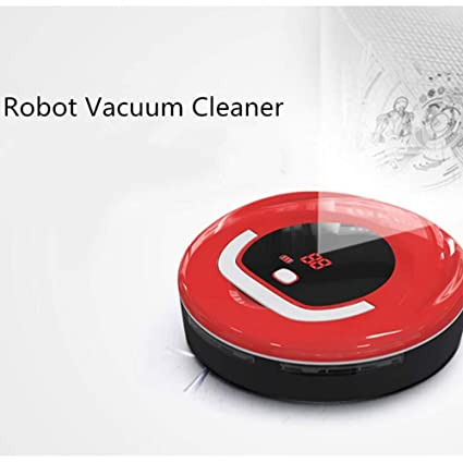 Amazon.com - Robot Vacuum Cleaner, Automatic Vacuum Cleaner Home Scanner Robot Automatic Intelligent Wet and Dry Robot Vacuum Cleaner, Mini Small Wireless ...