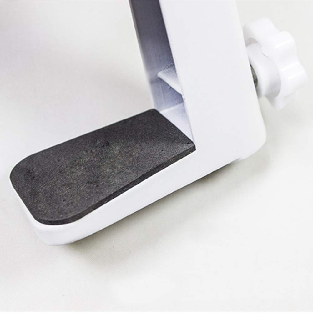 Taille Unique Blanc SYN Pince de Fixation antilever r/ésistante aux Rayures antid/érapante en Alliage daluminium Professionnelle Pratique et Pratique /à Installer sur Le Bureau