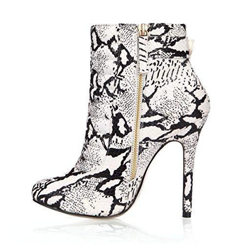 De Altos 12CM Botas Tobil 4U Zapatos Tacones De Otoño Invierno E Mujer Best Cortas Botas PUExg4zqwq