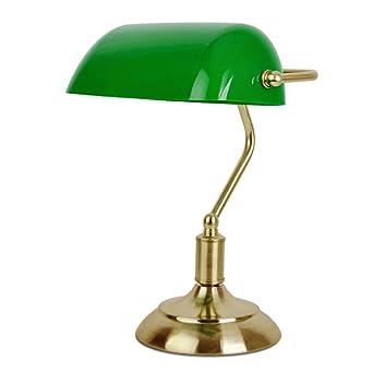 Lampe Vert BanquierNotaireDe PoserLaiton Vieille Et Minisun ChevetBureauÀ b7vYfI6gy