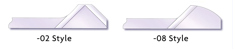SHAVIV 29141 R10 Double-Sided Round Hi-Speed Steel Blade for Burr-Bi Pack of 10