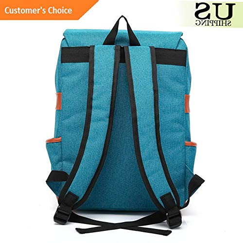 Kaputar Canvas School Bag Backpack Bookbag Laptop Travel Rucksack Satchel Shoulder Pack | Model BCKPCK - 388 |