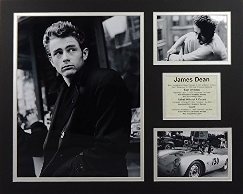 B&w 16x20 Photo (James Dean - B&W 16